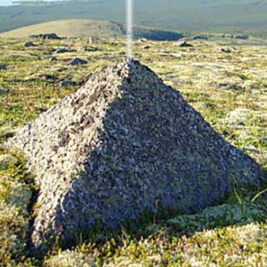 Артефакт на севере России