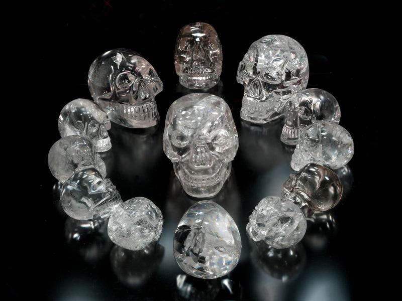 Хрустальные черепа из развалин Лубаантуна